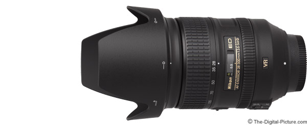 Nikon 28-300mm f/3.5-5.6G AF-S VR Lens Product Images