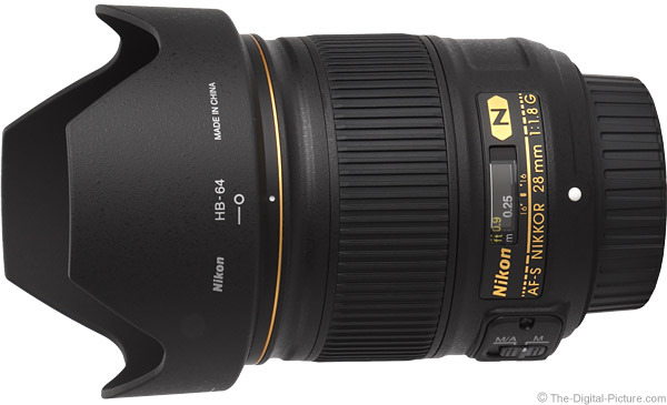 Nikon 28mm f/1.8G AF-S Lens Product Images