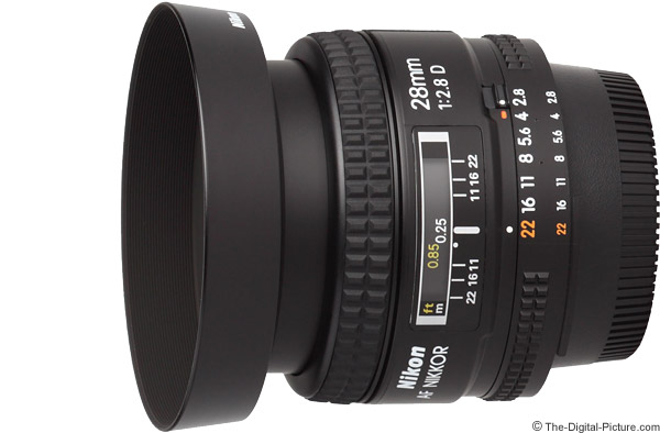 Nikon 28mm f/2.8D AF Lens Product Images
