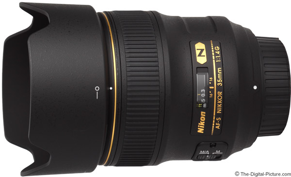 Nikon 35mm f/1.4G AF-S Lens Product Images