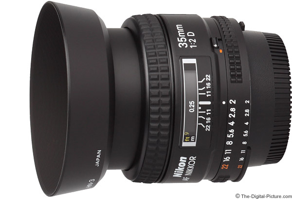 Nikon 35mm f/2D AF Lens Product Images