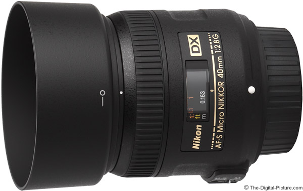 Nikon 40mm f/2.8G AF-S DX Micro Lens Product Images