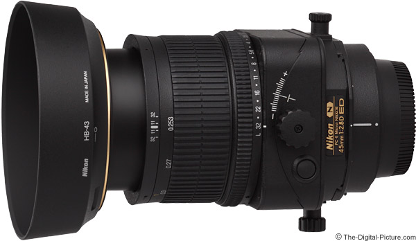 Nikon 45mm f/2.8D PC-E Micro Lens Product Images