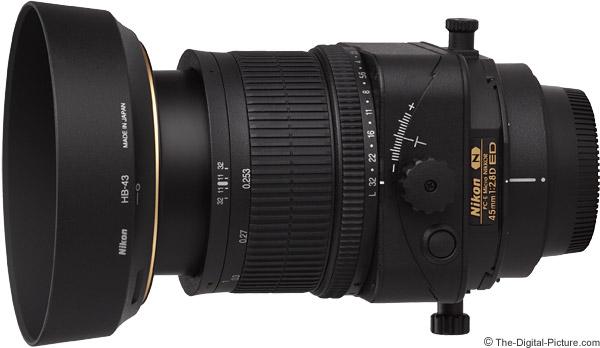 Nikon 45mm f/2.8D PC-E Micro Lens Product Images