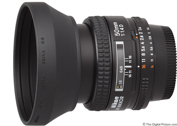 Nikon 50mm f/1.4D AF Lens Product Images