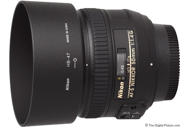 Nikon 50mm f/1.4G AF-S Lens Product Images