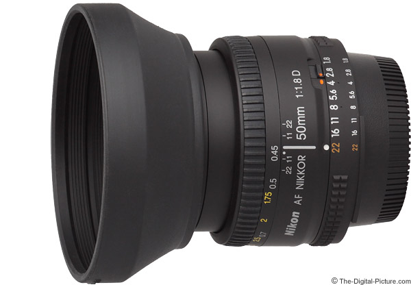 Nikon 50mm f/1.8D AF Lens Product Images