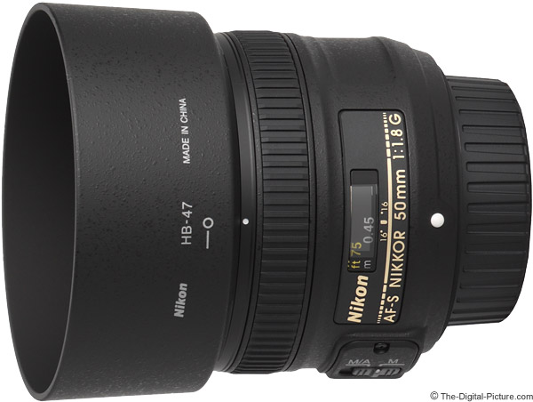Nikon 50mm f/1.8G AF-S Lens Product Images