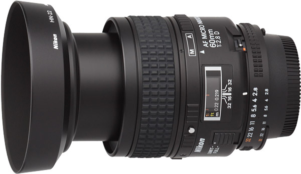 Nikon 60mm f/2.8D AF Micro Lens Product Images