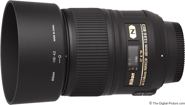 Nikon 60mm f/2.8G AF-S ED Micro Lens Product Images