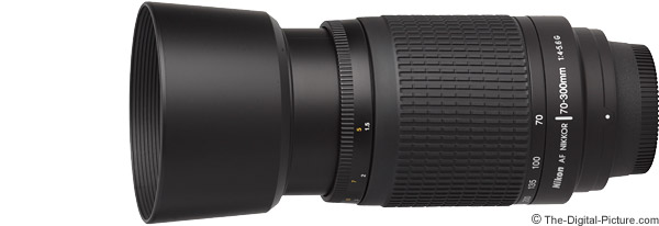 Nikon 70-300mm f/4-5.6G AF Lens Product Images