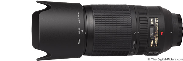 Nikon 70-300mm f/4.5-5.6G AF-S VR Lens Product Images