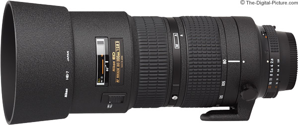 Nikon 80-200mm f/2.8D AF Lens Product Images