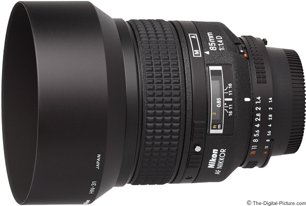Nikon 85mm f/1.4D AF IF Lens Product Images