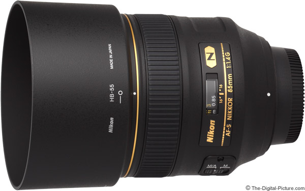Nikon 85mm f/1.4G AF-S Lens Product Images