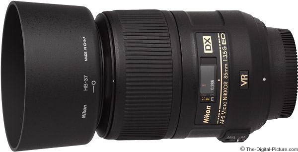 Nikon 85mm f/3.5G AF-S DX VR Micro Lens Product Images
