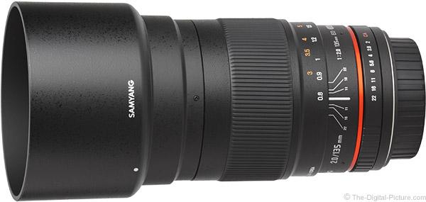 Samyang 135mm f/2 ED UMC Lens Product Images