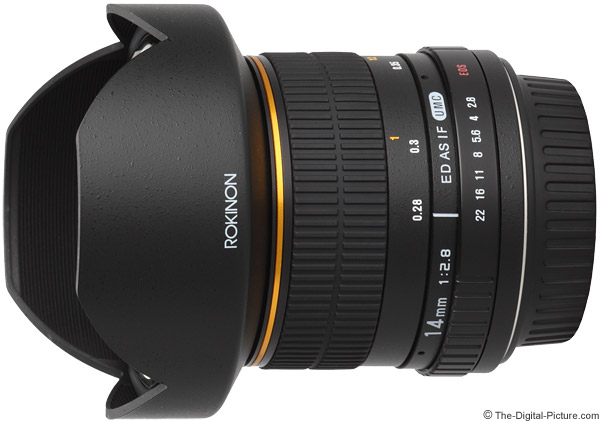 Samyang 14mm f/2.8 IF ED UMC Lens Product Images