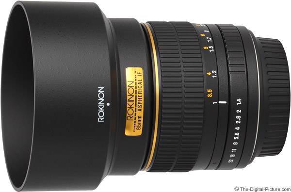 Samyang 85mm f/1.4 Lens Product Images