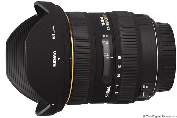 Sigma 10-20mm f/4-5.6 EX DC HSM Lens Product Images