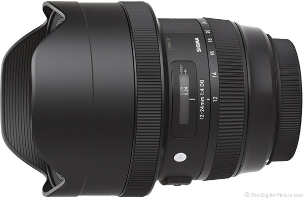 Sigma 12-24mm f/4 DG HSM Art Lens Product Images