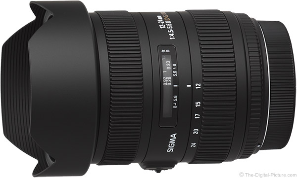 Sigma 12-24mm f/4.5-5.6 DG II HSM Lens Product Images