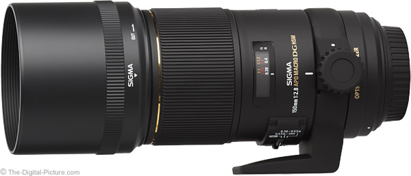 Sigma 150mm f/2.8 EX DG OS HSM Macro Lens Product Images