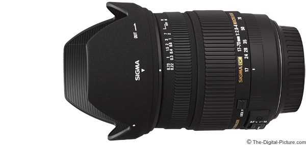 Sigma 17-70mm f/2.8-4 DC Macro OS Lens Product Images