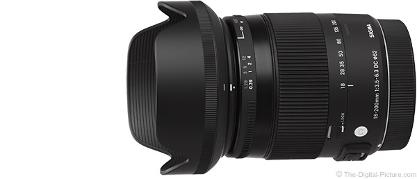 Sigma 18-200mm f/3.5-6.3 DC OS HSM C Lens Product Images