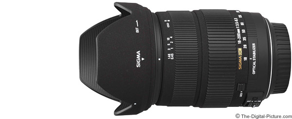 Sigma 18-200mm f/3.5-6.3 DC OS Lens Product Images