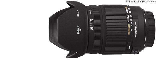 Sigma 18-250mm f/3.5-6.3 DC OS HSM Lens Product Images
