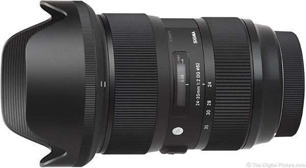 Sigma 24-35mm f/2 DG HSM Art Lens Product Images