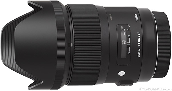 Sigma 35mm f/1.4 DG HSM Lens Product Images