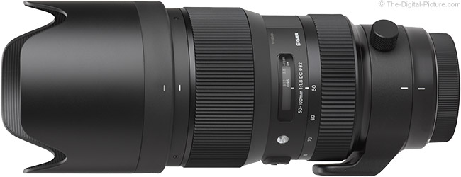 Sigma 50-100mm f/1.8 DC HSM Art Lens Product Images