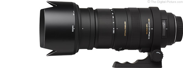 Sigma 50-500mm f/4.5-6.3 DG OS HSM Lens Product Images
