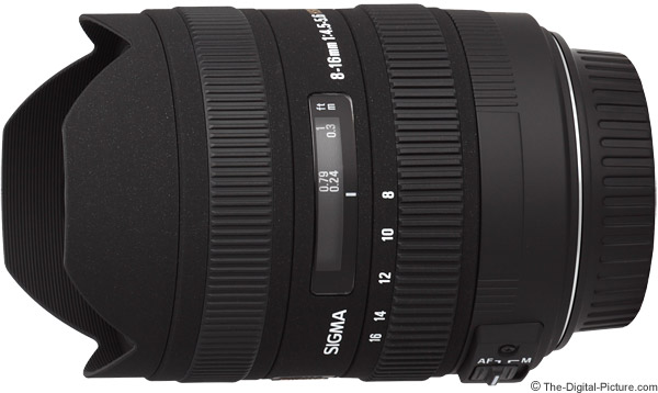 Sigma 8-16mm f/4.5-5.6 DC HSM Lens Product Images