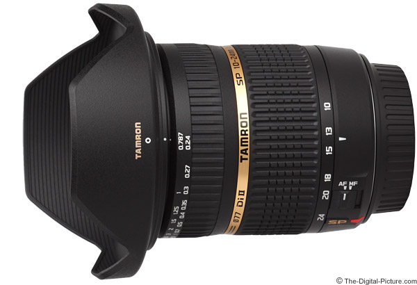 Tamron 10-24mm f/3.5-4.5 Di II Lens Product Images