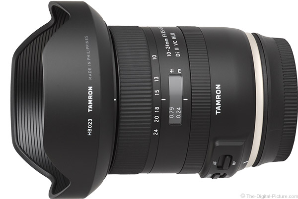 Tamron 10-24mm f/3.5-4.5 Di II VC HLD Lens Product Images