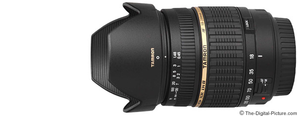 Tamron 18-200mm f/3.5-6.3 XR Di II Lens Product Images