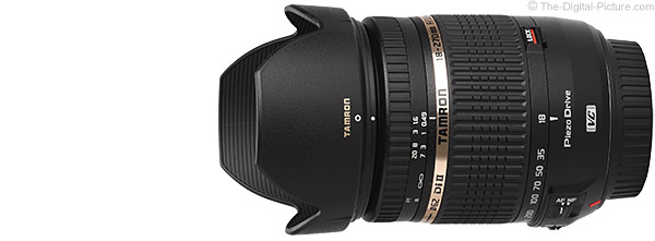 Tamron 18-270mm f/3.5-6.3 Di II VC PZD Lens Product Images
