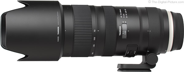 Tamron 70-200mm f/2.8 Di VC USD G2 Lens Product Images