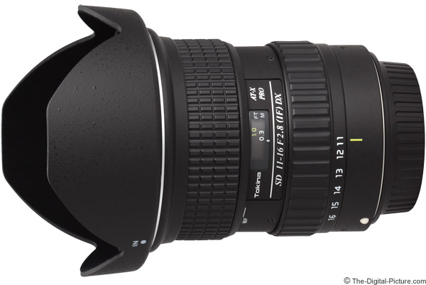 Tokina 11-16mm f/2.8 AT-X Pro DX Lens Product Images