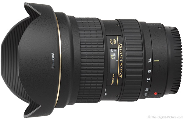 Tokina 14-20mm f/2 AT-X Pro DX Lens Product Images