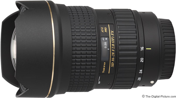 Tokina 16-28mm f/2.8 AT-X Pro FX Lens Product Images