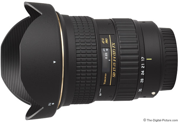 Tokina 17-35mm f/4 AT-X Pro FX Lens Product Images