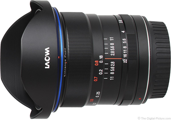 Venus Optics Laowa 12mm f/2.8 Zero-D Lens Product Images