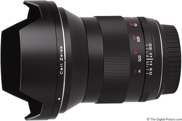 Zeiss 21mm f/2.8 Distagon T* ZE Lens Product Images