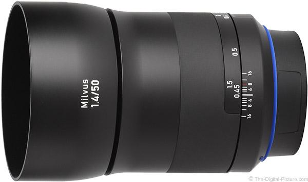 Zeiss Milvus 50mm f/1.4 Lens Product Images