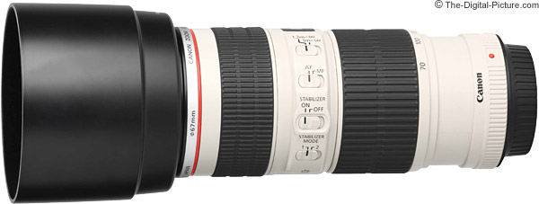 Canon EF 70-200mm f/4.0 L IS USM Lens Product Images