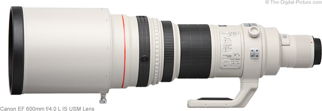 Canon Super Telephoto Lens Comparison